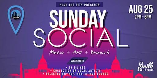 Sunday Social - Music | Art | Brunch