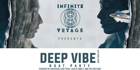 DEEP VIBE with MARK SALNER & Friends Boat Party Yacht Cruise NYC tickets