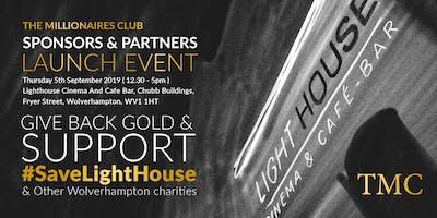 The Millionaires Club - Sponsors & Partners Launch