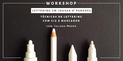 Lettering em Lousas & Paredes - Rio de Janeiro