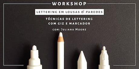 Lettering em Lousas & Paredes - Rio de Janeiro tickets