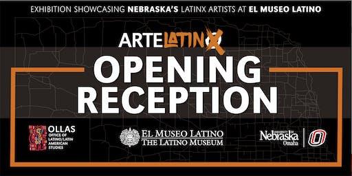 UNO/OLLAS ArteLatinX Exhibition Opening Reception