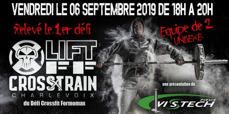 LIFTOFF CROSSXTRAIN 2019 billets