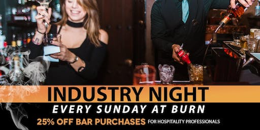 Industry Night at BURN