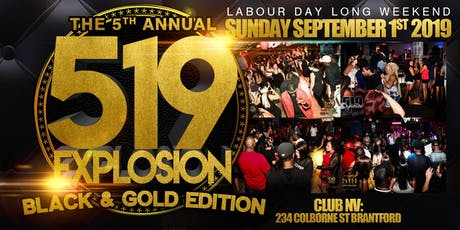 519 Explosion: Black And Gold Edition tickets