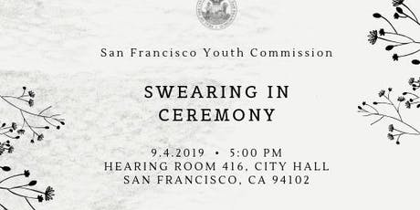 2019 - 2020 San Francisco Youth Commission Swearing-In Ceremony tickets