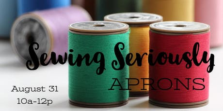 Sewing Seriously tickets