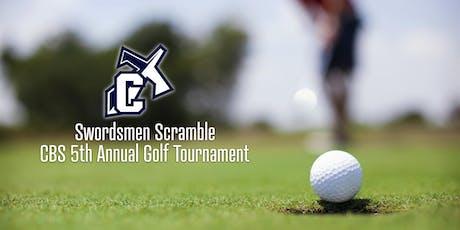 Swordsmen Scramble CBS 5th Annual Golf Tournament tickets