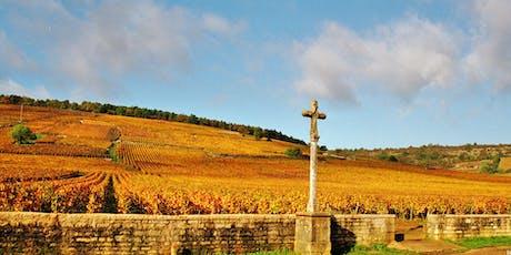 Burgundy Gems Wine Dinner billets