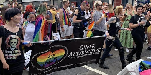 Manchester Pride March Walking Group - Queer Alternative