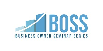 BUSINESS OWNER SEMINAR SERIES - Raising Capital
