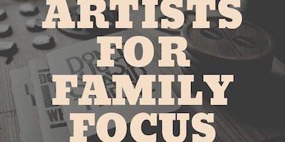 Artists for Family Focus Evanston Fundraiser