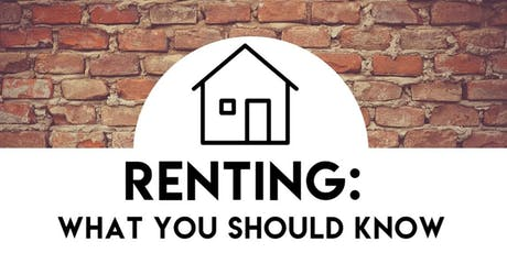 Renting: What You Should Know tickets