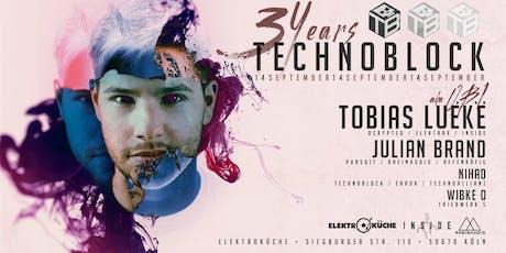 3 Jahre TechnoBlock Tickets