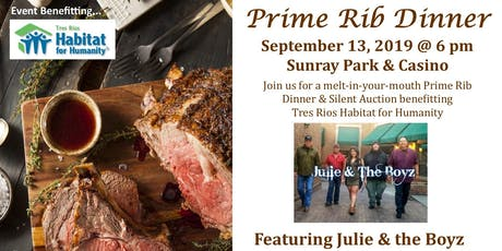 Prime Rib for Habitat for Humanity, Featuring Julie & the Boyz tickets