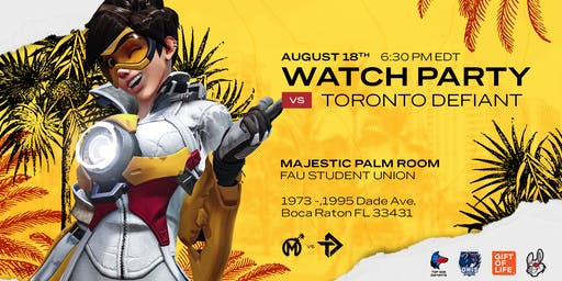 Florida Mayhem College Tour Watch Party @ FAU