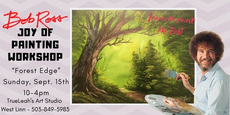 Bob Ross Joy of Painting Workshop - Forest Edge tickets