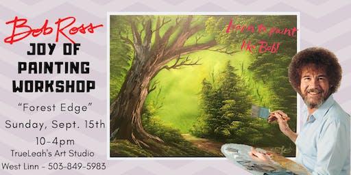 Bob Ross Joy of Painting Workshop - Forest Edge