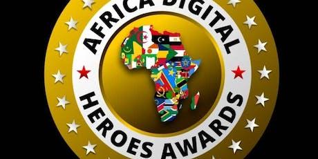 Africa Digital Heroes Award  biglietti
