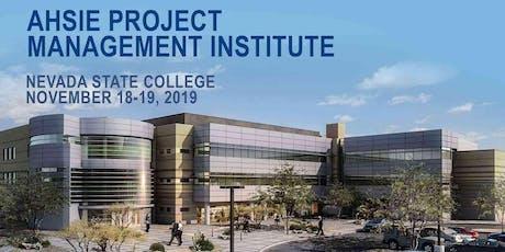 AHSIE Project Management Institute tickets