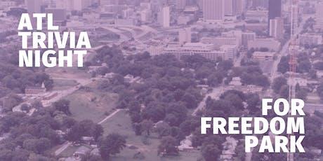 ATL Trivia Night for Freedom Park tickets