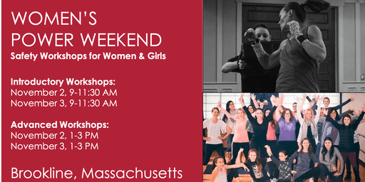 POWER WEEKEND: Advanced Safety & Self-Defense for Women
