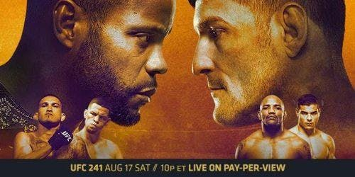 UFC 241 Heavyweight Title Rematch - Cormier vs. Miocic 2
