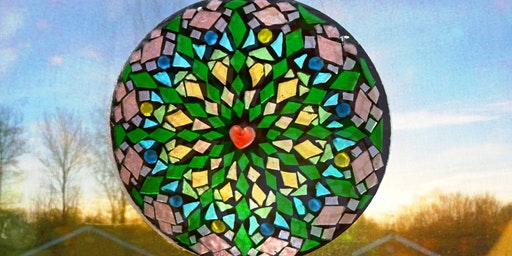 Stained Glass Mosaic Mandala (deposit)