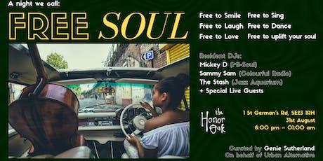 Free Soul tickets
