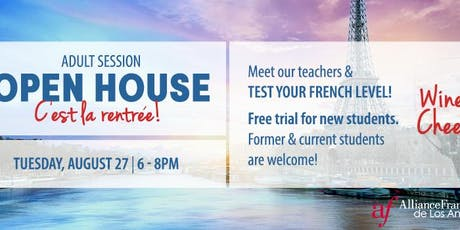 OPEN HOUSE - ADULT FRENCH CLASSES tickets