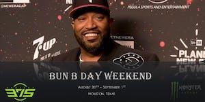 Bun B Weekend - spotlighting  mental Health Awareness