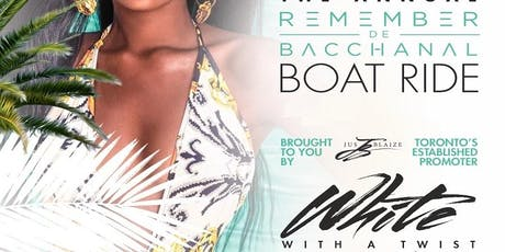 REMEMBER DE BACCHANAL - WHITE w/ A Twist of BRIGHT tickets