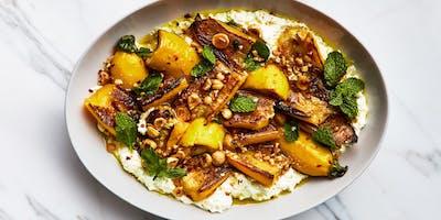 UBS Cooking School: Roasted Goldbar Squash Salad