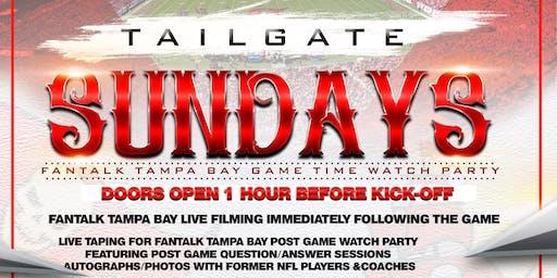 Tailgate Sundays TB Bucs Watch Party