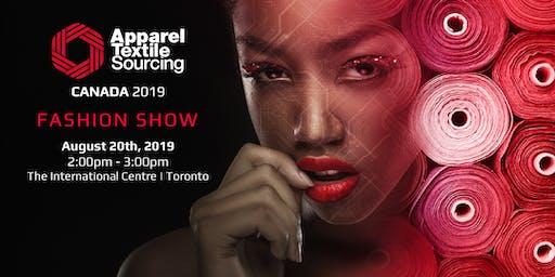 Apparel Textile Sourcing Canada Fashion Show