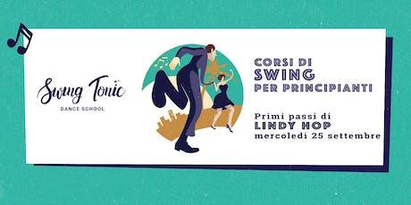 Corso di swing per principianti. Lezione primi passi di Lindy Hop al Vomero biglietti