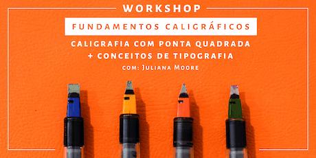 Fundamentos Caligráficos - Workshop de Caligrafia | Rio de Janeiro ingressos