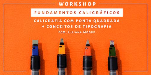 Fundamentos Caligráficos - Workshop de Caligrafia | Rio de Janeiro