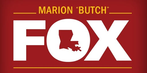 Reception for Marion Butch Fox at The New Bayou Rum Event Center