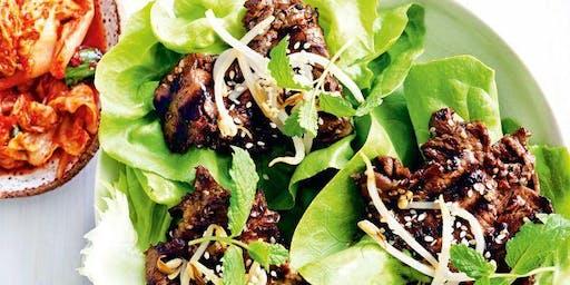UBS Cooking School: Korean Beef BBQ