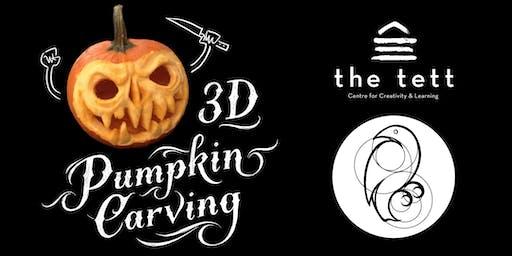 3D Pumpkin Carving Workshop
