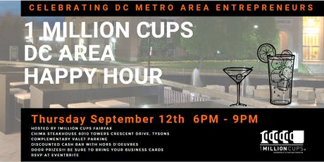 1Million Cups DC Area Happy Hour tickets