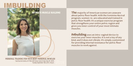 IMbuilding: Intimate Muscle Building  (Informational Talk) tickets