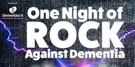 One Night of ROCK against Dementia tickets