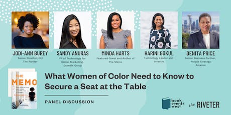 What Women of Color Need to Know to Secure a Seat at the Table tickets