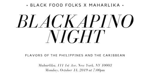 Blackapino Night: Black Food Folks x Maharlika