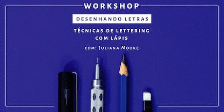 Desenhando Letras - Workshop de Lettering | Rio de Janeiro ingressos
