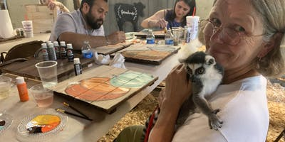 Cocktails and Kangaroos Paint Class at Wild Acres