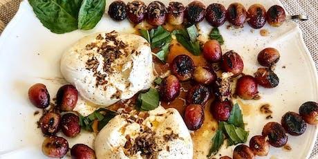 UBS Cooking School: Creamy Burrata Salad tickets