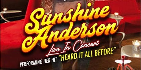 SUNSHINE ANDERSON LIVE IN CONCERT tickets
